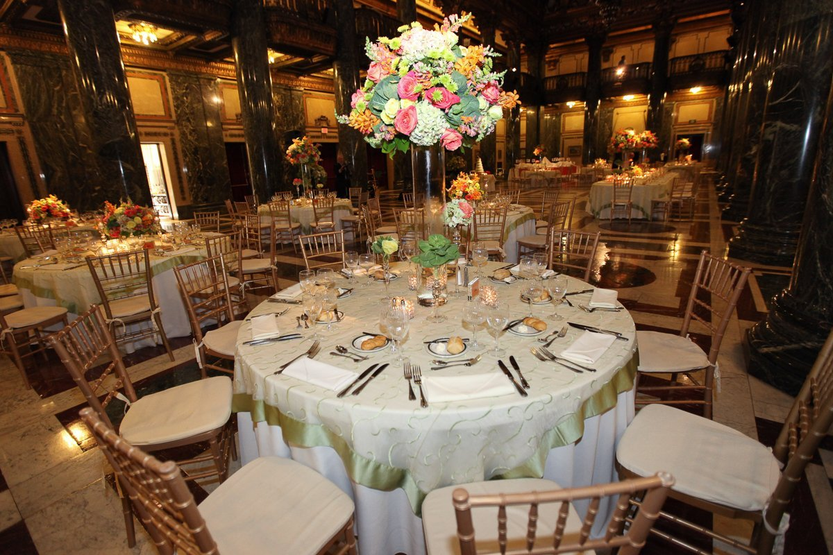 Carnegie Museum Pittsburgh Wedding Design