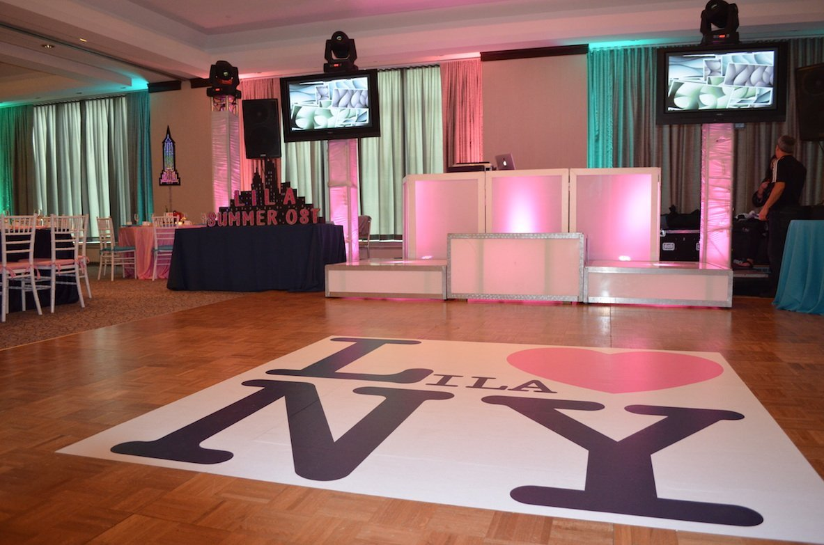 Pittsburgh Bat Mitzvah Design