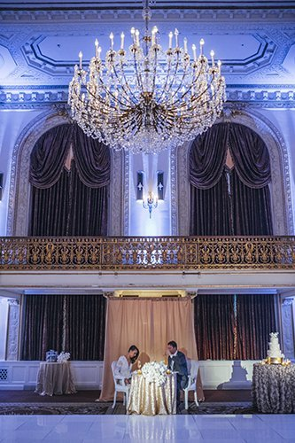 Omni William Penn Pittsburgh Wedding Design