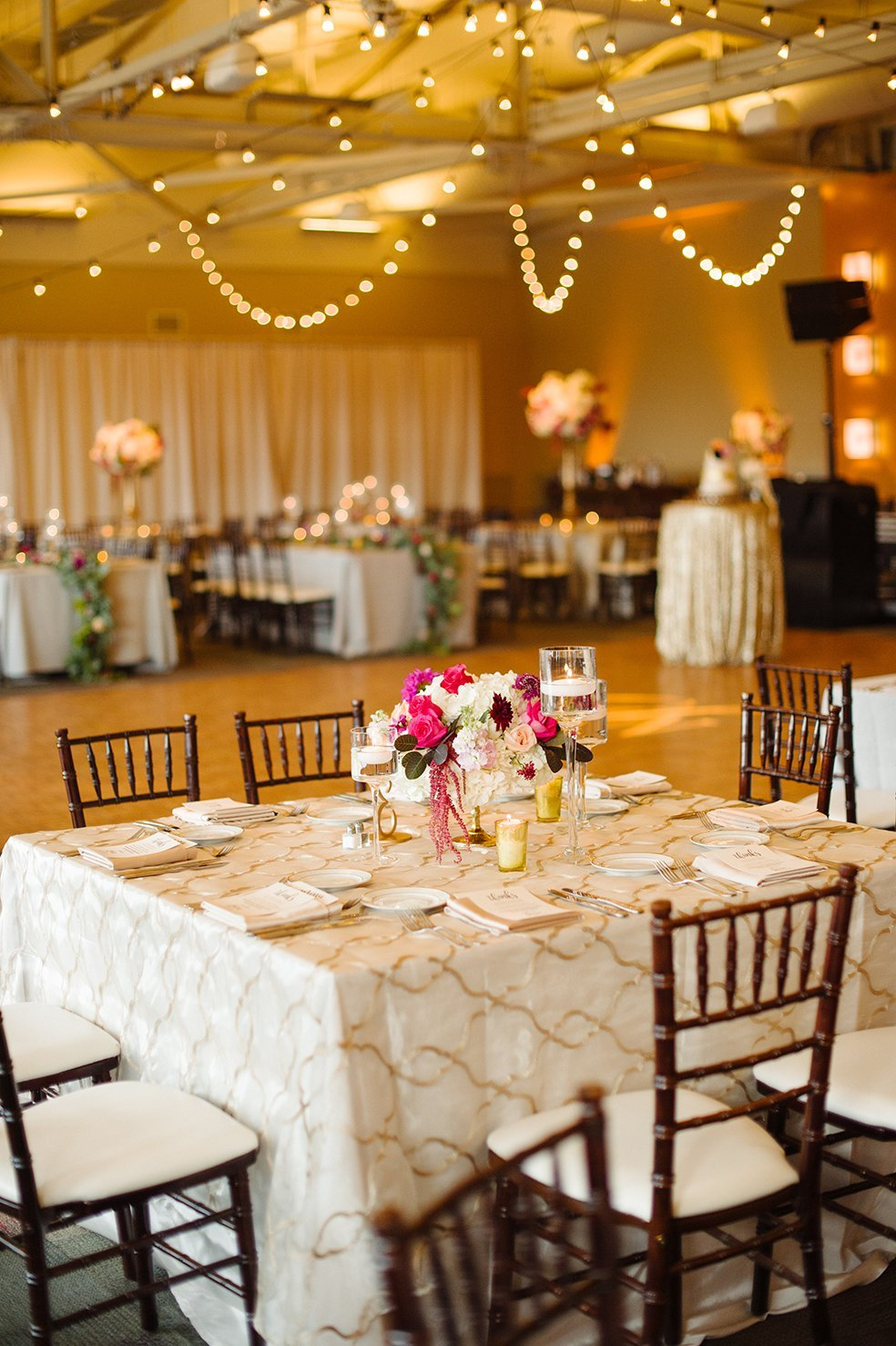 Pittsburgh Wedding Reception Design