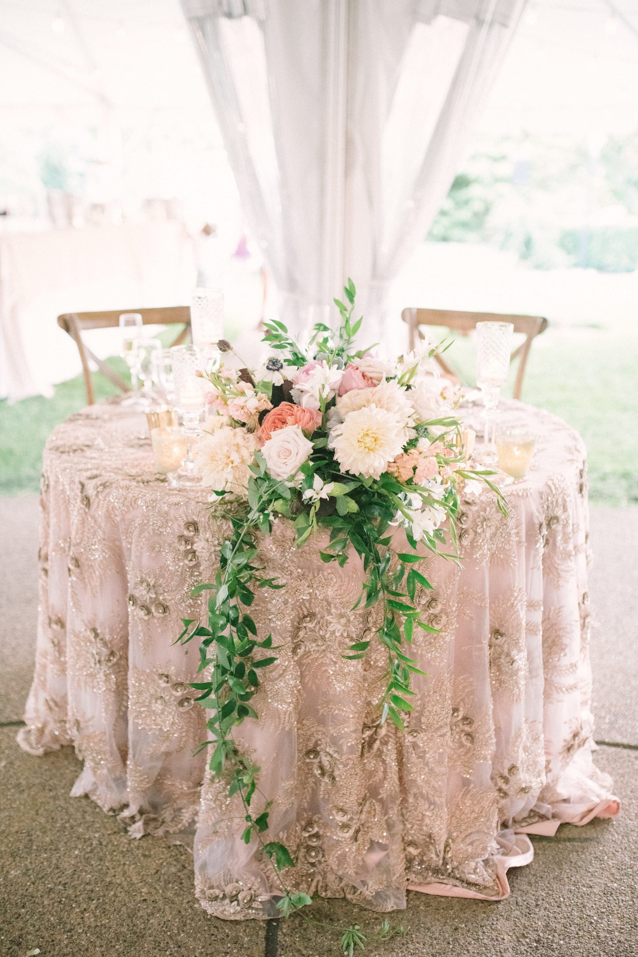 Wedding Table at Reception
